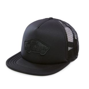 Classic Patch Trucker Blk Blk