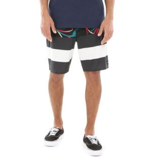 Era Boardshort Blk Open Shade