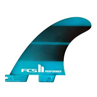 FCS II Performer Neo Glass Teal Gradient Thruster - Medium