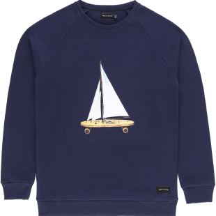 Voyage Sweat Navy