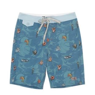Bonzarelly Boardshort Blue