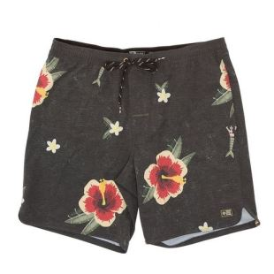 Dinghy Boardshort Black