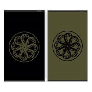 Beach Towel - Black / Olive