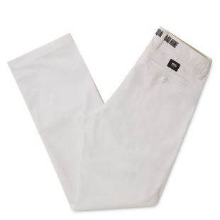 Authentic Chino Baker White