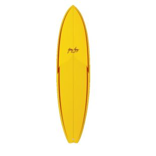 "Little Darlin Gerry Lopez - 6'8 x 20 3/4"" x 2.7"" - 39.9 L - 5 fin"