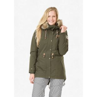 Katniss Jacket Dark Army Green