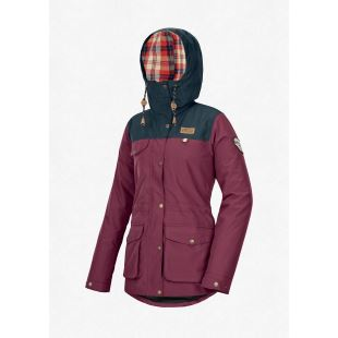 Kate Jacket Burgundy