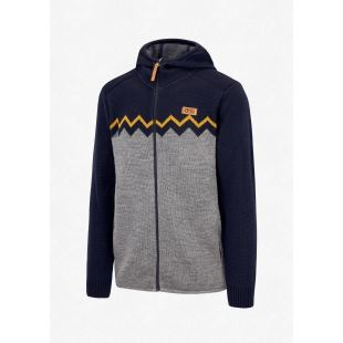 United Hoody Dark Blue Grey