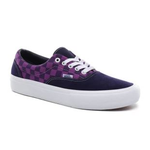 Era Pro Baker Kader Purple Check