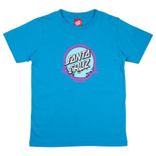 T Shirt Youth Dot Reflection Blue Water