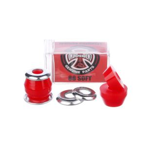 Bushings Conical Soft 88A Red