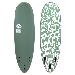 Bomber - 5'10 Smoke Green/White - FCS II