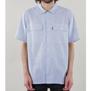 Skate SS Button Down SE Haus Stripe