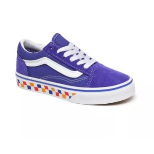 UY Old Skool Tri Checkerbrd Royal Blue