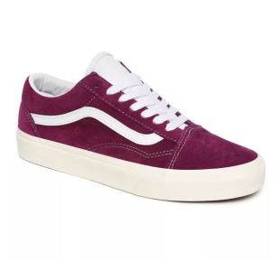 Old Skool (Pig Suede) Grape Juice White