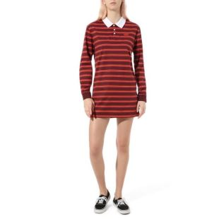 Stripe Polo Dress Port Royale