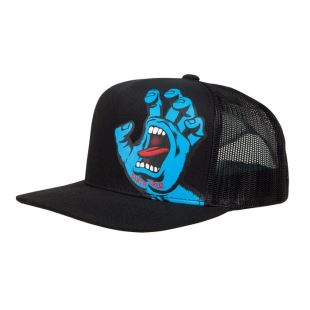 Youth Cap Screaming Blk
