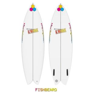 "Fishbeard - 5'10 x 19"" 7/8 x 2"" 9/16 - 32.4 L - Twin - Futures"