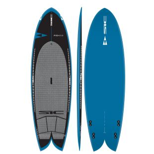 Fish 8'8 GC sup wave