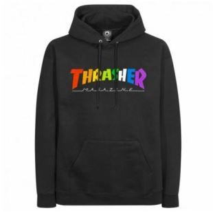 Sweat Rainbow Mag Hood