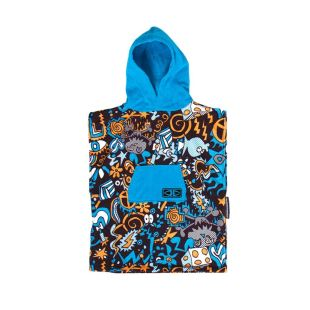 Toddlers Hippy Skull hooded - poncho