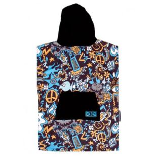 Hyppi Skull youth hooded - poncho
