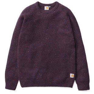 Anglistic Sweater Burnt Umber Heather