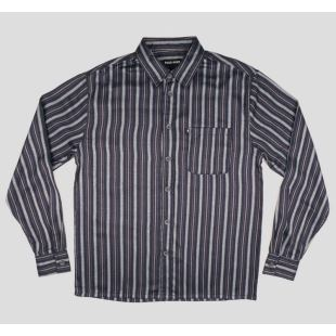 Shirt LS Workers Stripes