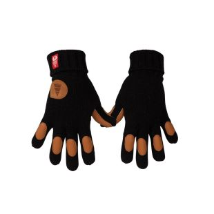Keepen gants laine Black