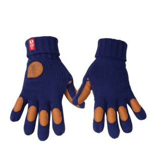Keepen gants laine Blue