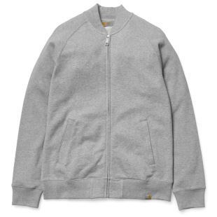 Freeman Baseball Jacket Grey Heather
