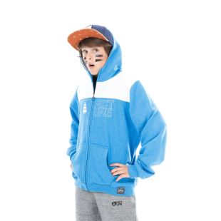 Basement Hoodie Kids Picture Blue