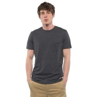 Basic CR Pocket SS Charcoal Heather
