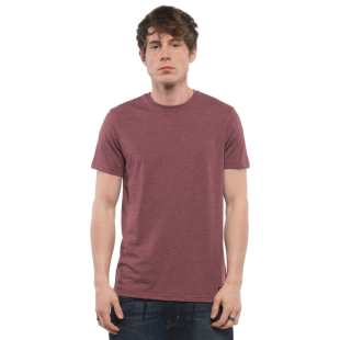 Basic CR Pocket SS Oxblood Red Heather