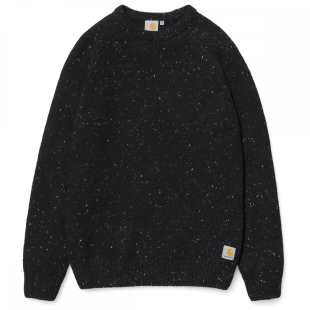 Anglistic Sweater Black Heather