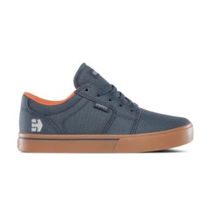 Kids Barge LS Dark Grey Blue Gum