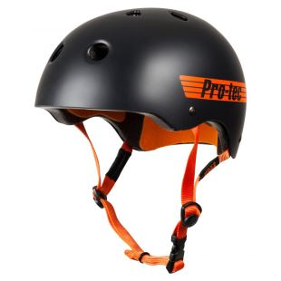 Helmet Classic Pro Bucky Satin Orange Blk