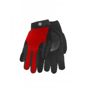Curly Gloves Red