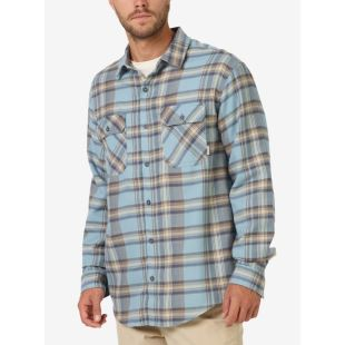 Brighton Flannel WT Sky Stella Plaid
