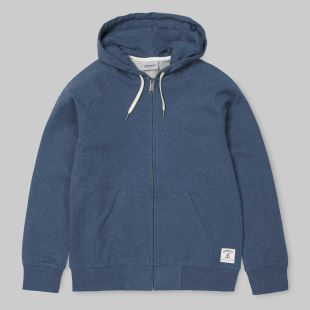 Hooded Holbrook LT Jacket Stone Blue Heather