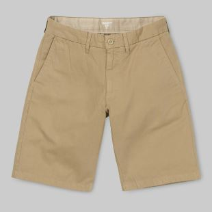Johnson Short Leather Rinsed