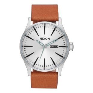 Sentry Leather Silver Tan
