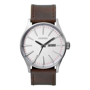 Sentry Leather Silver Brown