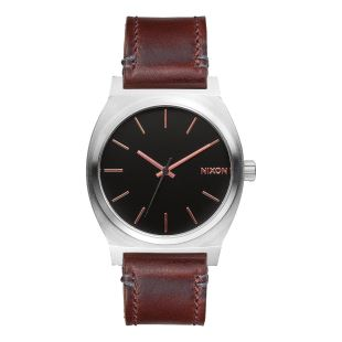 Time Teller Gray / Rose Gold / Brown