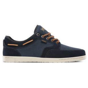 Dory Navy Brown White
