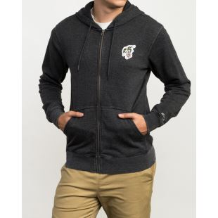 Foxhole Zip Charcoal Heather