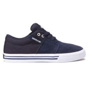 Stacks Vulc II Kids Navy White
