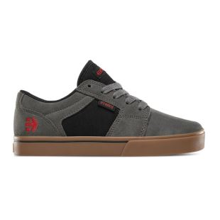 Kids Barge Ls Grey Black Gum