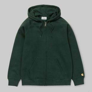 Hooded Chase Jacket Loden Gold