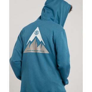 Delta Zip Hood Blue Steel